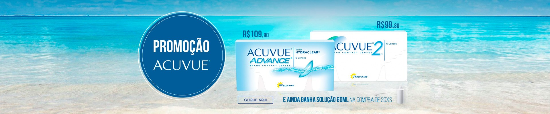 Acuvue Advance e Acuvue 2