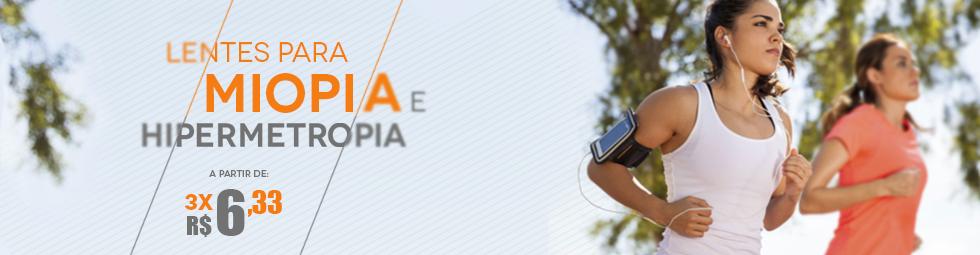Lentes para Miopia e Hipermetropia