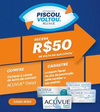 Promoção Piscou, Voltou! Cashback Acucue