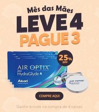 Combo Air Optix HydraGlayde e Air Optix Colors