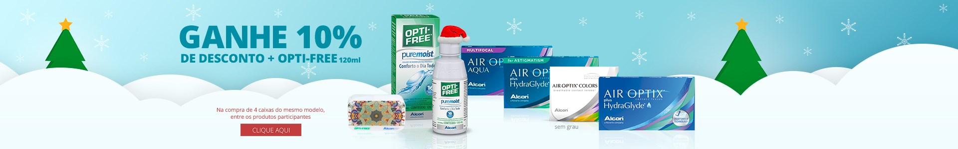 Promoção lentes de contato Alcon