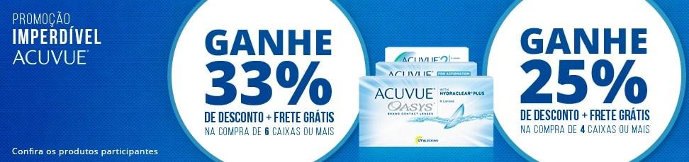 Banner Promoção Acuvue
