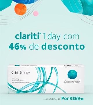Clariti 1 Day com 46% de DESCONTO