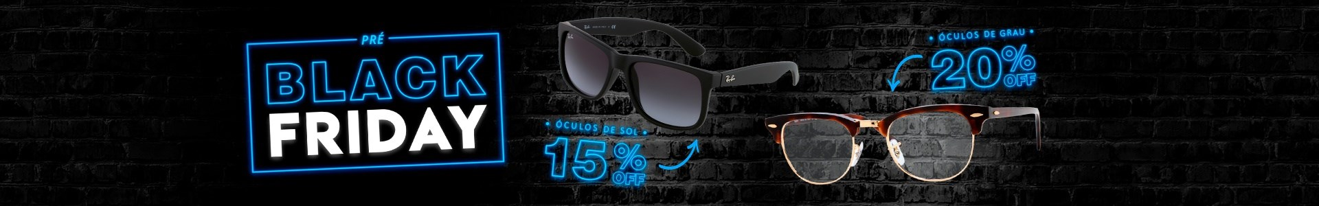 Pre Black Friday NewLentes - Oculos