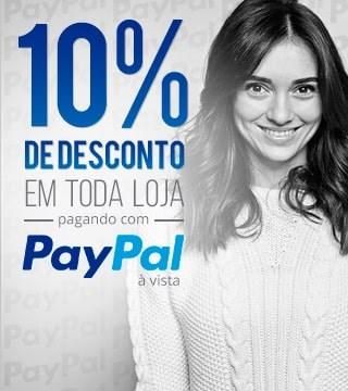 Pay Pal com 10% de desconto