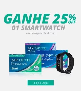 Lentes de contato Air Optix