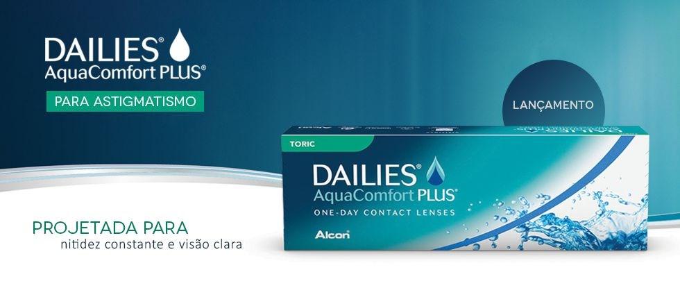 Lançamento DAILIES AquaConfort Plus TORIC
