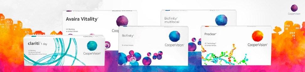 lentes de contato CooperVision