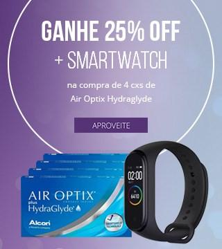 Promoção Alcon Hydraglyde brinde SmartWatch