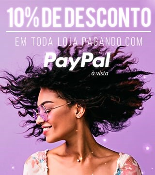 10% de DESCONTO no pagamento à vista no PayPal