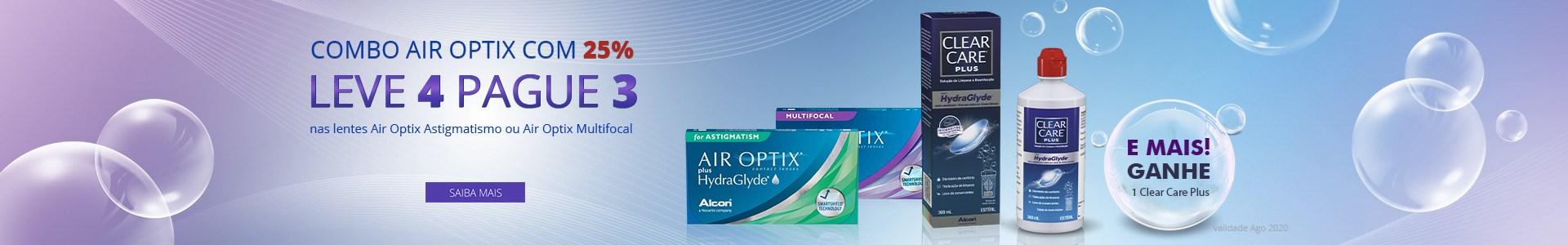 Promoção Air Optix - Leve 4 Pague 3