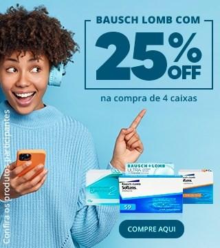 Bausch + Lomb 25% OFF