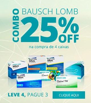 Promoção Lentes Bausch Lomb