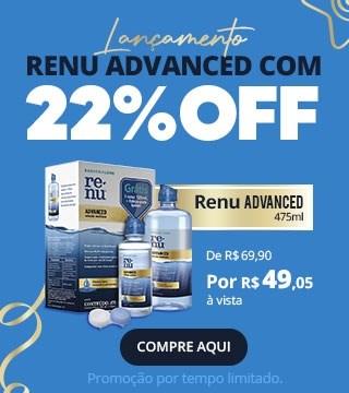 Lançamento Renu Advanced 475ml