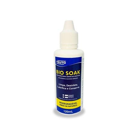 BIO SOAK 120ml - Solução para lentes de contato