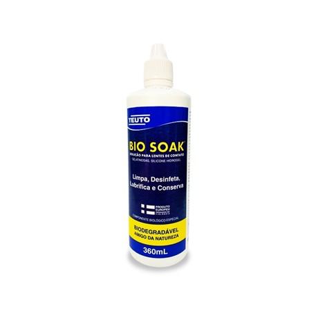 BIO SOAK 360ml - Solução para lentes de contato