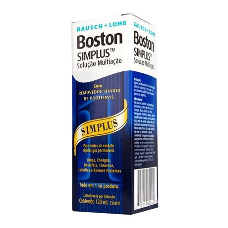 729ccb36df Boston Simplus 120ml - Solução para lentes de contato rígidas (rgp)
