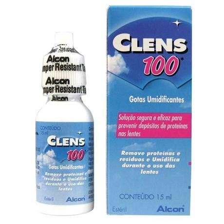 f004d7526c Clens 100 - Solução umidificante para lentes de contato - Newlentes
