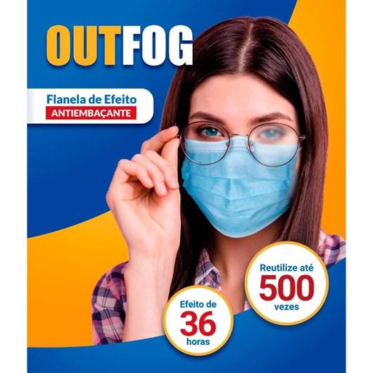 Flanela com efeito antiembaçante para óculos - Outfog