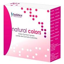 Kit Lentes de Contato Coloridas Natural Colors - SEM GRAU