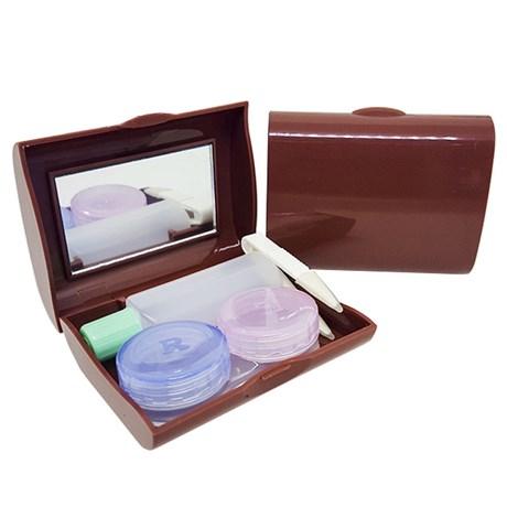 Kit portátil para lentes de contato modelo A-816