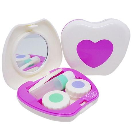 Kit portátil para lentes de contato modelo Coração A-509 - Newlentes 3590a1b35e