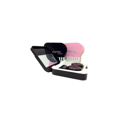 Kit portátil para lentes de contato modelo Piano A-907