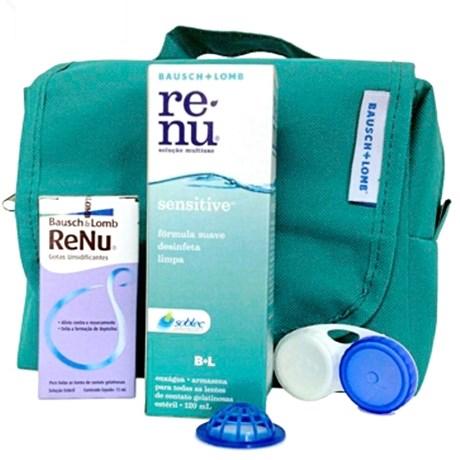 Kit Renu Sensitive 120ml - Solução para lentes de contato