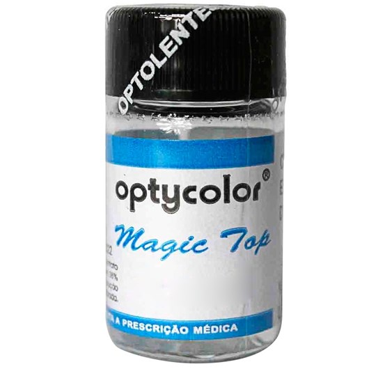 Lente de contato colorida Magic Top - Sem grau