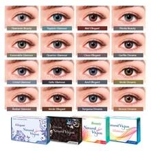 Lente de contato colorida Natural Vision anual - Com grau