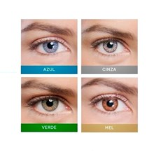 Lente de contato colorida Optogel Tórica Color