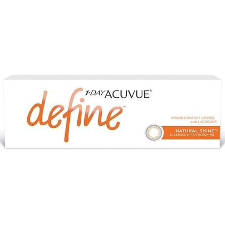 Lentes de Contato 1-Day Acuvue Define Shine - Efeito Realce Intenso
