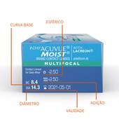 Lentes de Contato 1-Day Acuvue Moist Multifocal