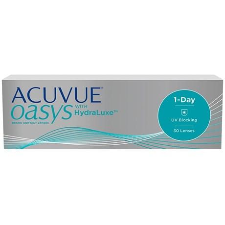 Lentes de Contato Acuvue Oasys 1-Day com Hydraluxe 8d5883877d
