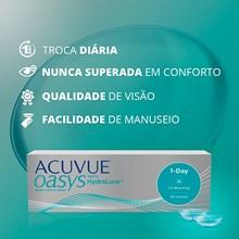 Lentes de Contato Acuvue Oasys 1-Day com Hydraluxe
