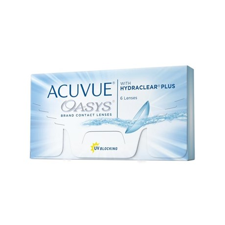 Lentes de contato Acuvue Oasys