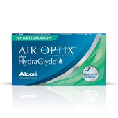 Lentes de Contato Air Optix Plus Hydraglyde Astigmatism