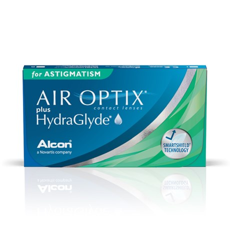 Lentes de Contato Air Optix Plus Hydraglyde Astigmatism