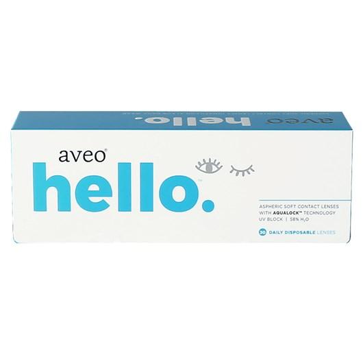 Lentes de contato Aveo Hello - Descarte diário