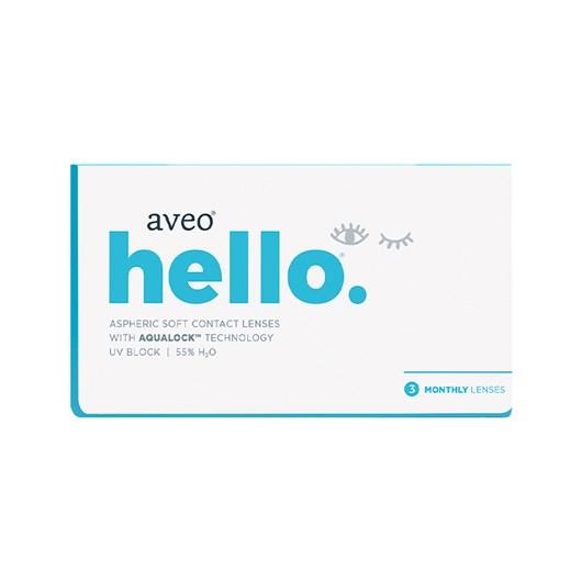 Lentes de contato Aveo Hello - Descarte mensal