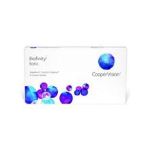 Lentes de Contato Biofinity Toric - Caixa com 6 lentes