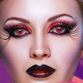 Lentes de contato colorida Fantasy - Halloween