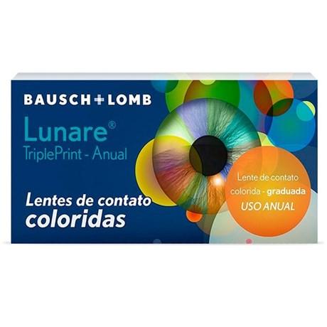 51540c9a09c4a Lentes de Contato Colorida LUNARE Tri-Kolor Anual - COM GRAU