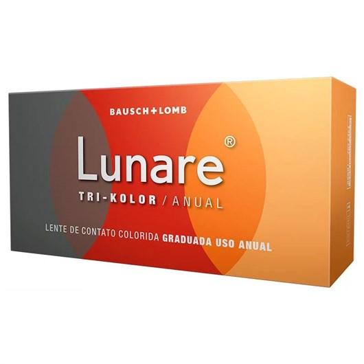 Lentes de Contato Colorida Lunare Tri-Kolor Anual - COM GRAU