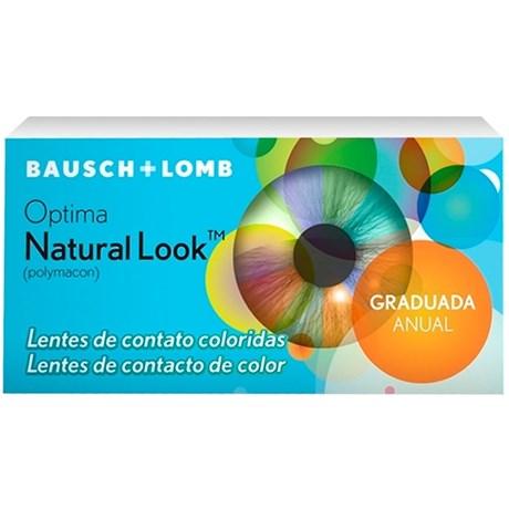 a52e74b09c6c7 Lentes coloridas Natural Look Com Grau   newlentes