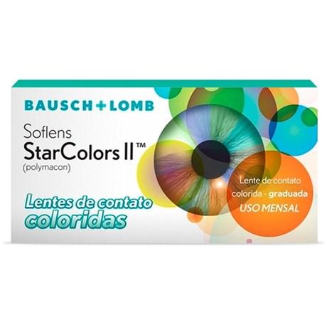 Lentes de Contato Colorida Soflens StarColors II - COM GRAU 10ce7c867e