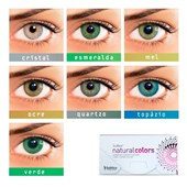 Lentes de Contato Colorida Solflex Natural Colors - COM GRAU
