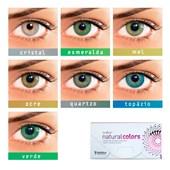 Lentes de Contato Colorida Solflex Natural Colors - COM GRAU