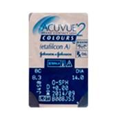Lentes de Contato Coloridas Acuvue 2 Colours c/ 2 - SEM GRAU
