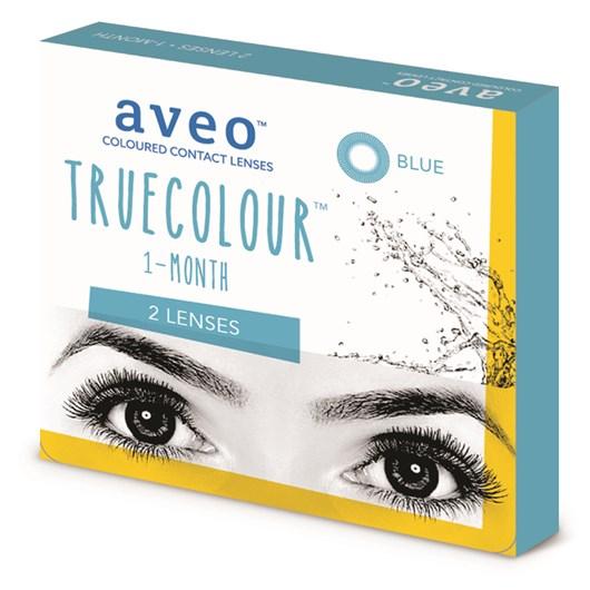 Lentes de contato coloridas Aveo TrueColour mensal - Sem grau
